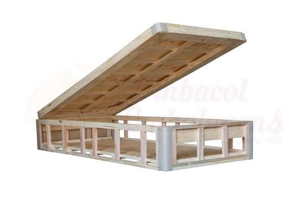 Box baú de madeira