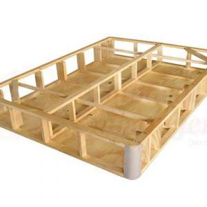 Base de madeira para colchão box