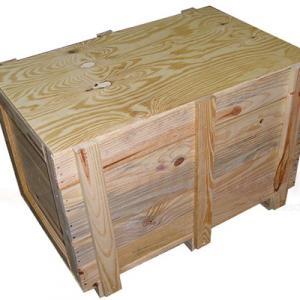 Caixa de madeira para indústria