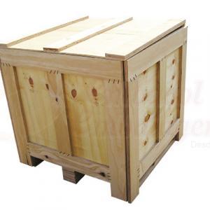 Caixa pallet madeira industrial