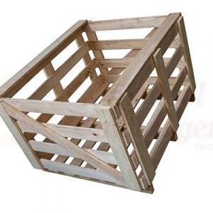 Engrado industrial de madeira
