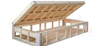 Box de madeira para colchão