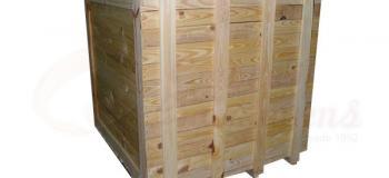 Embalagens de madeira para transporte