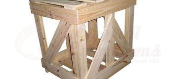 Fábrica de caixotes de madeira