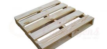 Paletes e caixas de madeira