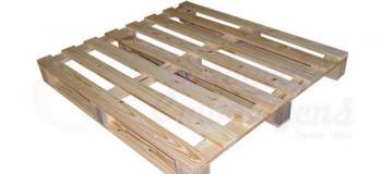 Pallet madeira industrial
